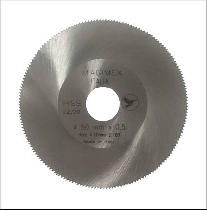 Hss & Widia saw discs, any size - Magimex Italia